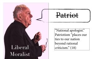 Liberal Moralist character